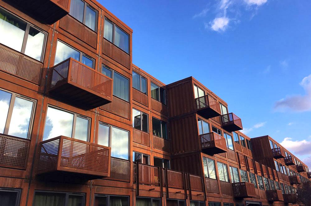 ERWE Containersysteme - Referenzen: System- und Modulbau, Mobile Mietgebäude und Schlüsselfertigbau