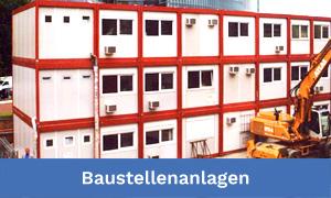 Baustellen-Containeranlagen