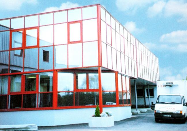 ERWE Containersysteme - Anwendungsbeispiel: Büro- und Verwaltungsbauten