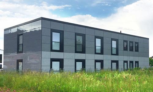 Modulbau, Systembau, Industrie- und Gewerbebau. Perfekte Raumlösungen durch Modulare Gebäude.