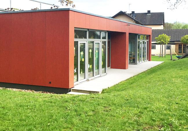 ERWE Containersysteme - Anwendungsbeispiel: Schulen, Kindergärten, Kindertagesstätten und Schulungszentren