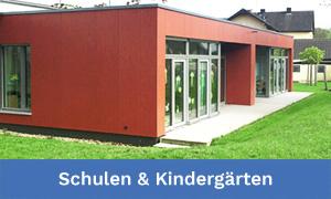 Schulen, Kindergärten, Kindertagesstätten und Schulungszentren