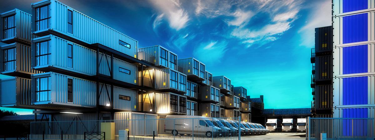 ERWE Containersysteme - Modulbau, Systembau, Mobile Gebäude, Containerhaus, Mietcontainer, Wohncontainer, Büro-, Verwaltungs- und Baustellencontainer und gebrauchte Container von ERWE.