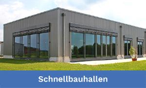 Hallenbau und Schnellbauhallen – Werkhallen, Lagerhallen und Produktionshallen