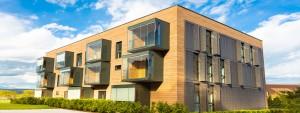 Mobile Gebäude und Räume auf Zeit. Temporärer Raumbedarf optimal lösen. ERWE bietet Ihnen flexible und komfortable Raumlösungen zum Wohnen, Lernen oder Arbeiten.